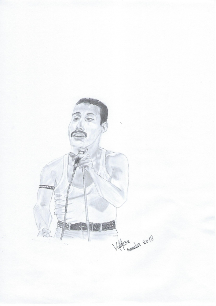 Freddie Mercury par Van